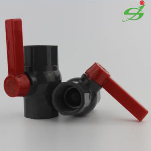 Js High Quality UPVC Ball Valve with Thread pictures & photos