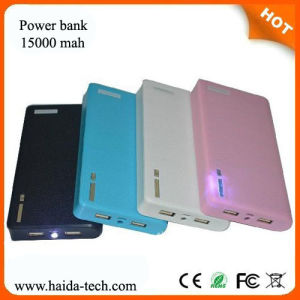 High Quality 15000 mAh Power Bank with CE, FCC, RoHS