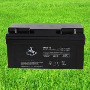 12V 65ah Mf VRLA Rechargeable Sealed Lead Acid Battery for Solar Power pictures & photos