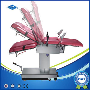 Hospital Electric Gynecological Table with Ce (HFMPB06C) pictures & photos