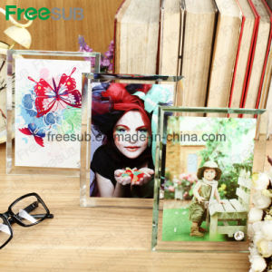 Freesub Heat Transfer Printing Photo Frame Made of Glass (BL-02) pictures & photos