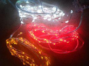 LED Copper String Lights Indoor
