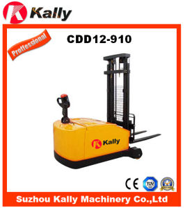 Counterbalance Electric Reach Stacker with Electronic Power Steering System