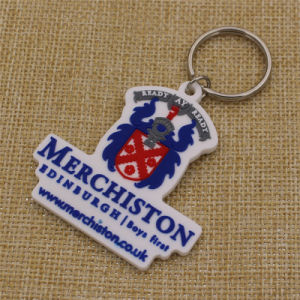 Custom Merchiston Castle School Soft PVC Keychain for Students pictures & photos