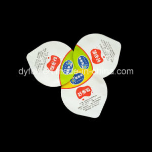 Aluminum Die Cut Lidding Foil for PS Yogurt Cup pictures & photos