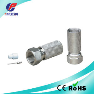 F Connector Rg11 with Pin pictures & photos
