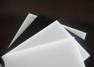 PE Sheet, HDPE Sheet with White, Black, Green Color pictures & photos