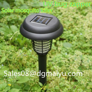 Solar Lights Mosquito Killer Lamp Charging Outdoor Electronic Mosquito Lamp UV Bug Zapper pictures & photos