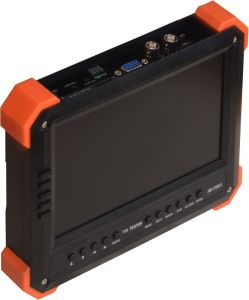 7 Inch Tvi Ahd Camera Tester CCTV Tester HD Tvi Analog Cameras Testing VGA HDMI Input 12V2a