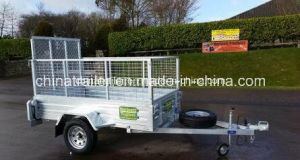 Hot Dipped Galvanized Heavy Duty Box Utility Trailer pictures & photos