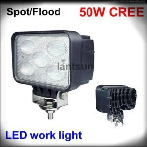 50W Flood Beam LED Work Light for Offroad 4X4 SUV pictures & photos