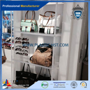High Quality Floor Standing Clear Acrylic Electronic Products Display Case for Retail Shop Wholesale pictures & photos