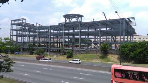 Hight Quality Steel Structure Shopping Mall Construction pictures & photos