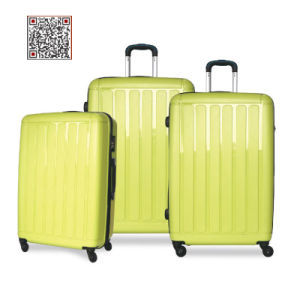 Strong PP Travel Trolley Luggage Bags pictures & photos