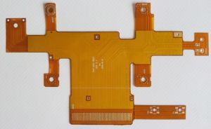 Pi, Copper, Gold Plating Single Layer Flexible Circuit Board FPC (MIC0467) pictures & photos