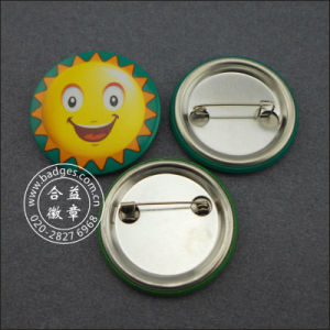 Custom Tin Button Badge Printing Colorful Badge (GZHY-MKT-008) pictures & photos
