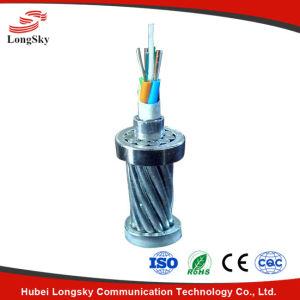 Aluminum Clad PBT Tube Optical Fiber Composite Overhead Ground Wire
