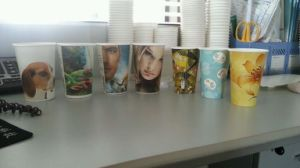 China Paper Cup Printing Machine pictures & photos
