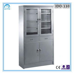 High Quality Stainless Steel Medical Cabinet pictures & photos