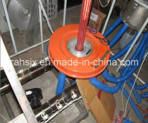 Double Colors Strip LDPE Film Blowing Machine pictures & photos