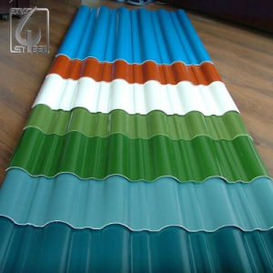 CGCC Z60 PPGI Orrugated Steel Sheet Roofing Sheet pictures & photos