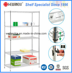 Metro Commercial Used Chrome Metal Wire Shelving Rack pictures & photos
