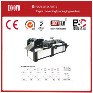 Western-Style Envelope Paper Bag Pasting Machine (ZF-330) pictures & photos