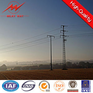 Steel Tubular Pole for Extra High Voltage Transmission Line pictures & photos