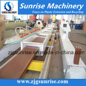 Sunrise Machinery Plastic PVC WPC Fence Decking Profile Extrusion Machine pictures & photos
