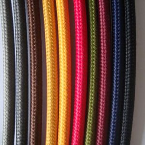 Grey Textile Braided Power Cable pictures & photos