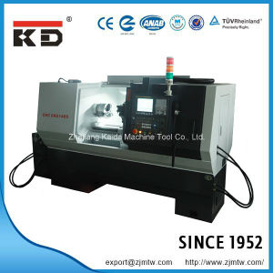 High Quality Precision Lathe Flat Bed CNC Lathe Ck6136s/750 pictures & photos