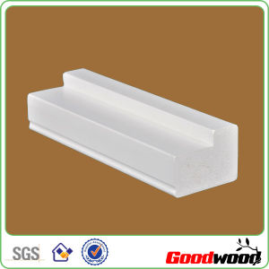 Extruded PVC Shutter Profiles Custom Window Shutter Components