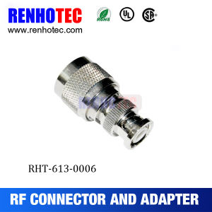 Male Gender BNC Plug to N Plug Connector RF Adapter pictures & photos