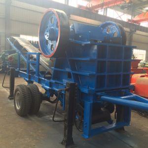 Flexible Popular Wheeled Crusher Move Jaw Crushing Plant/Mobile Stone Crushing Machine pictures & photos