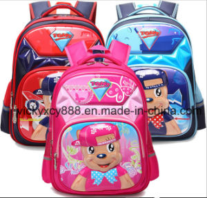 Primary Boy Girl Double Shoulder 3D Cartoon School Bag (CY3562) pictures & photos