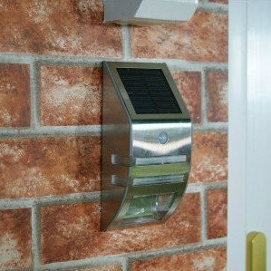 Stainless Steel Solar Induction Wall Lamp pictures & photos
