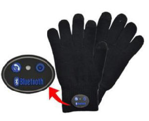 Bluetooth Talking Gloves Touch Screen Function for Smartphone