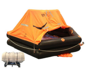 CCS Ec Certificate Marine Throw Overboard Inflatable Life Raft pictures & photos