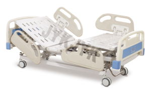 Electric Three -Function Hospital Bed with P. P Side Rails pictures & photos