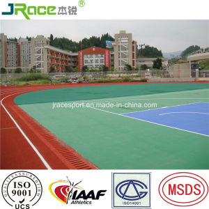 Good UV Resistance Outdoor Synthetic Athletic Tracks pictures & photos