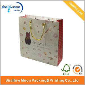 Customized Logo Printed Paper Packaging Bag with Best Price (AZ-121721) pictures & photos