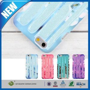 Stripe Rubber Flexible Hard Case Cover Protector for iPhone 6 pictures & photos