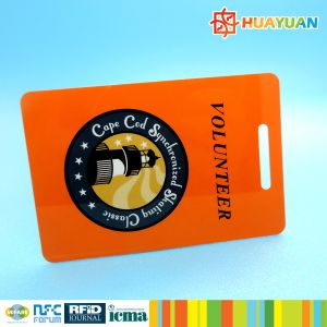 ID badge tag 13.56MHz UID Printed MIFARE Classic 1K RFID smart Card pictures & photos