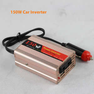DC12V/24V Solar Car Power Inverters 150watt AC220V pictures & photos