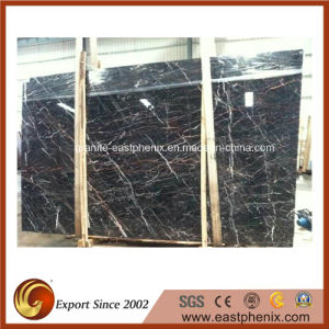 Imported Lauren Black Marble Slabs for Tombstone Slab/Countertop pictures & photos
