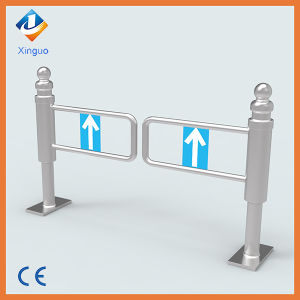 Manual Stainless Steel Pedestrian Swing Barrier Gate pictures & photos