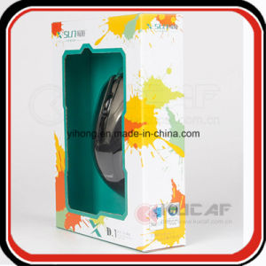 Electronic Products/ Mouse Paper Packaging Cardboard Box with Window pictures & photos