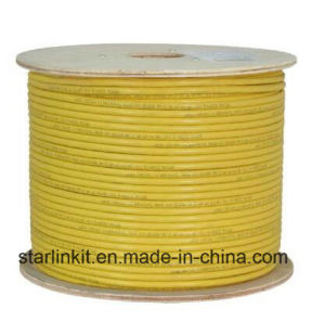 550MHz 23AWG Full Copper CAT6A UTP Cable with Pull Box pictures & photos
