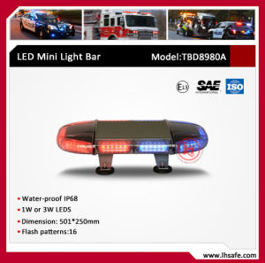 Oval LED Mini Warning Light Bar (TBD8980A) pictures & photos