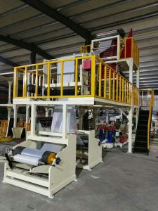 3 Layer Co-Extrusion ABA Rotary Head Film Blowing Machine pictures & photos